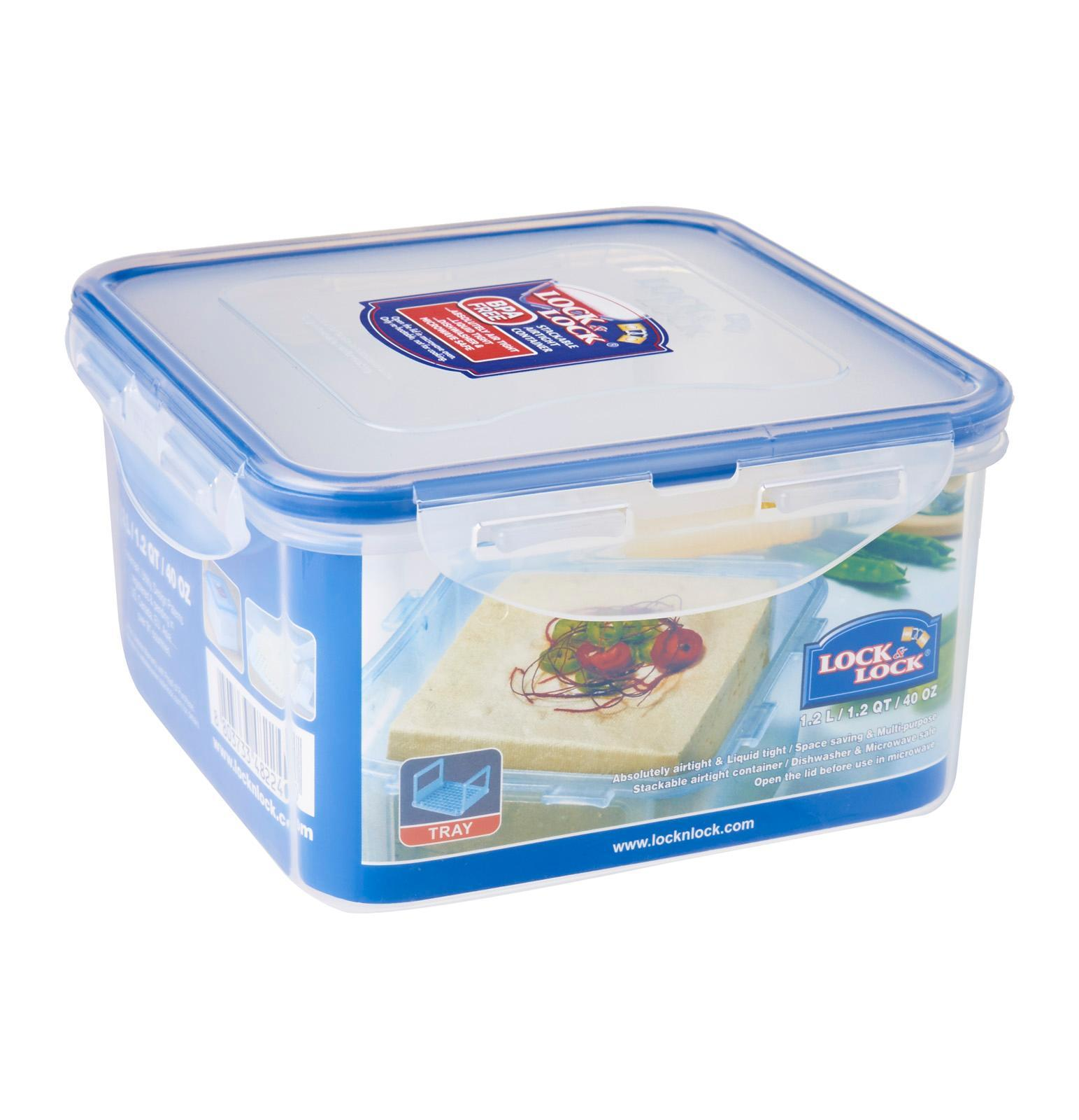 Lock & Lock Rectangular Classic Food Container 550ml