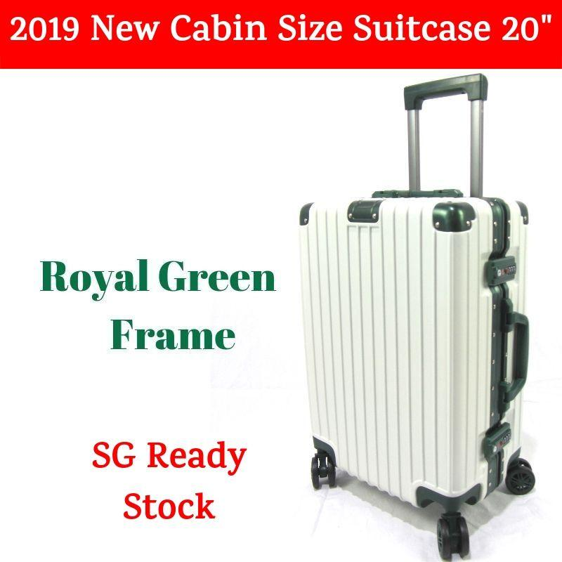 2019 New Aluminium Alloy Frame Travel Luggage case / Cabin Size Suitcase Trolley 20
