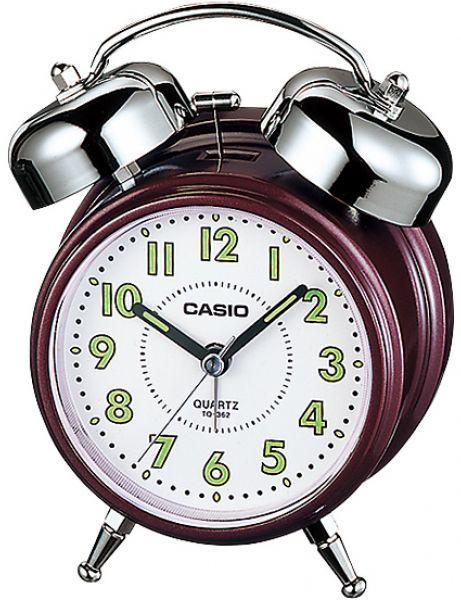 Casio Bedside Bell Snooze Black Alarm Clock TQ-362-1A  ( RING ALARM CLOCK)