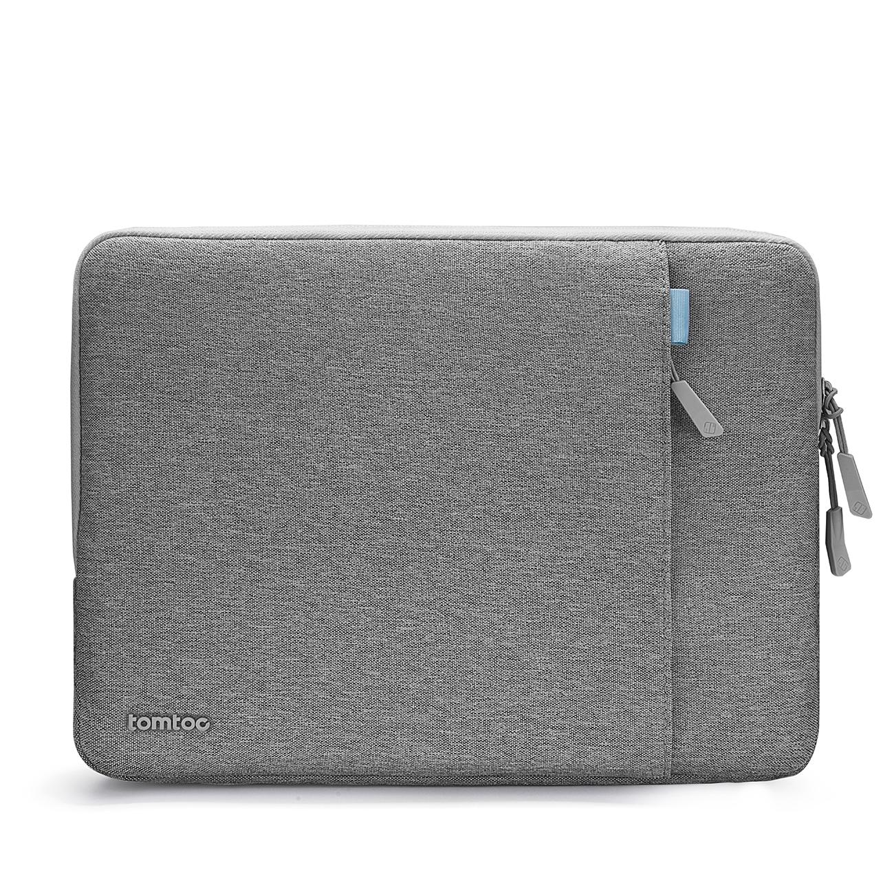 tomtoc 360° Protective 13-13.5 inch Laptop Sleeve ,Spill-Resistant Laptop Case with CornerArmor Patent & Accessory Pocket