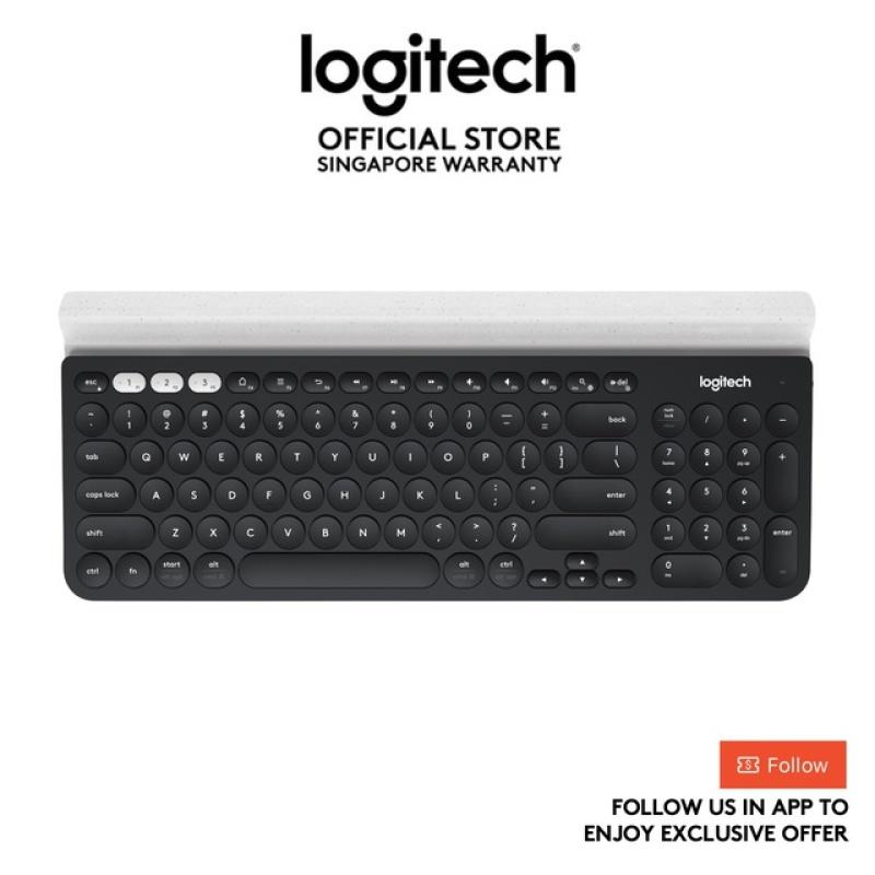 Logitech K780 Multi-Device Wireless Bluetooth Keyboard With Slient Typing, Logitech Flow Technology - EBL Singapore