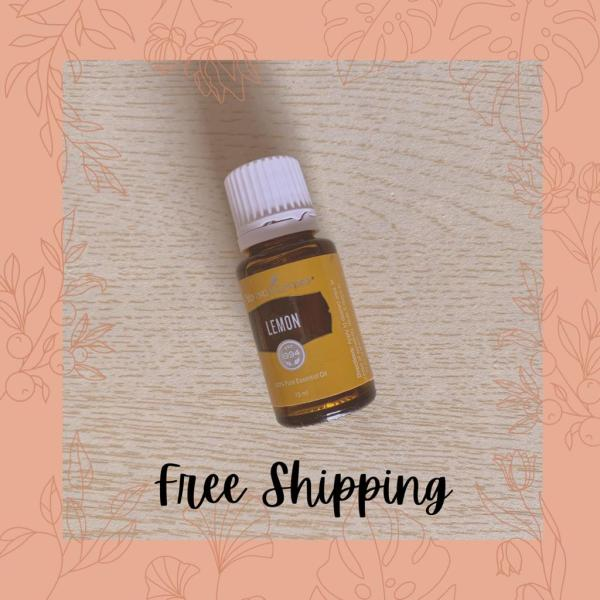 Buy 100% Authentic Young Living Lemon Essential Oil Singapore