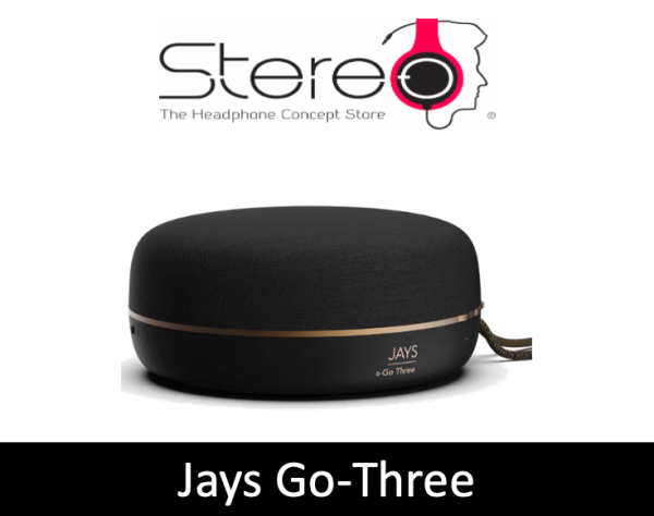 Jays s-Go Three Portable 360-Degree Speaker Singapore