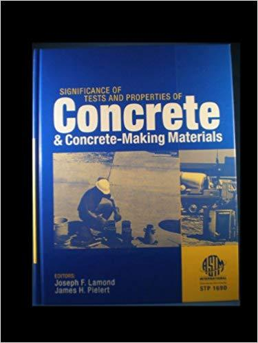 Significance of Tests and Properties of Concrete & Concrete-Making Materials
