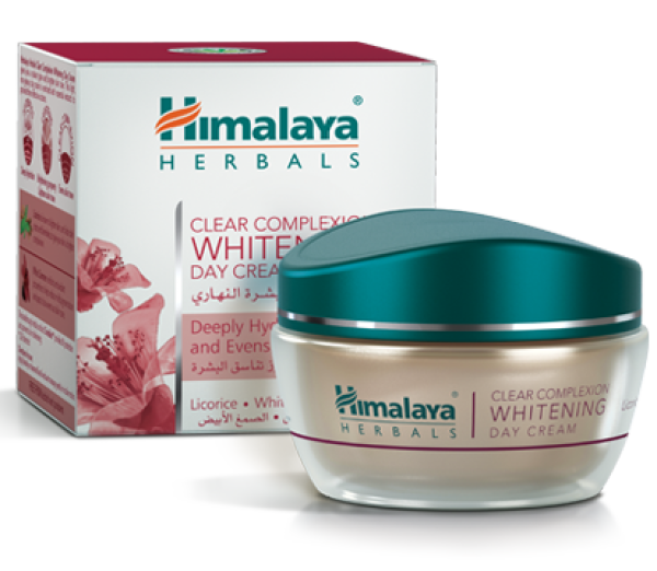 Buy HIMALAYA CLEAR COMPLEXION WHITENING DAY CREAM  BRIGHTENS SKIN TONE LICORICE WHITE DAMMER Singapore