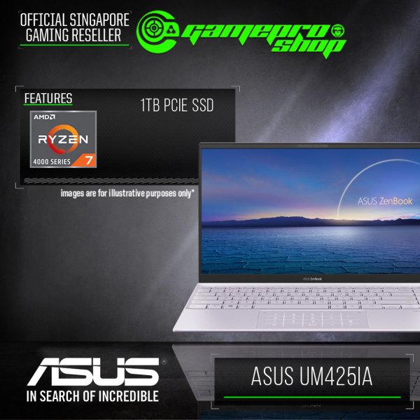 [Express Delivery] ASUS ZENBOOK UM425IA-AM092T (RYZEN 7-4700U /8GB LPDDR4/1TB SSD/AMD Radeon/14.0FHD/W10)-(2Y)