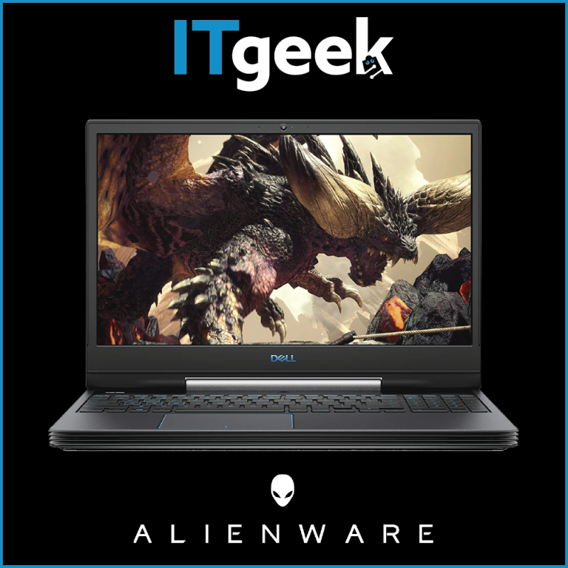 (BUILD-TO-ORDER) Dell G5 15 Gaming / i7-10750H / 15.6 FHD/ 16GB/ 512GB M.2 PCIe NVMe SSD/ NVIDIA® GeForce RTX™ 2060 Laptop
