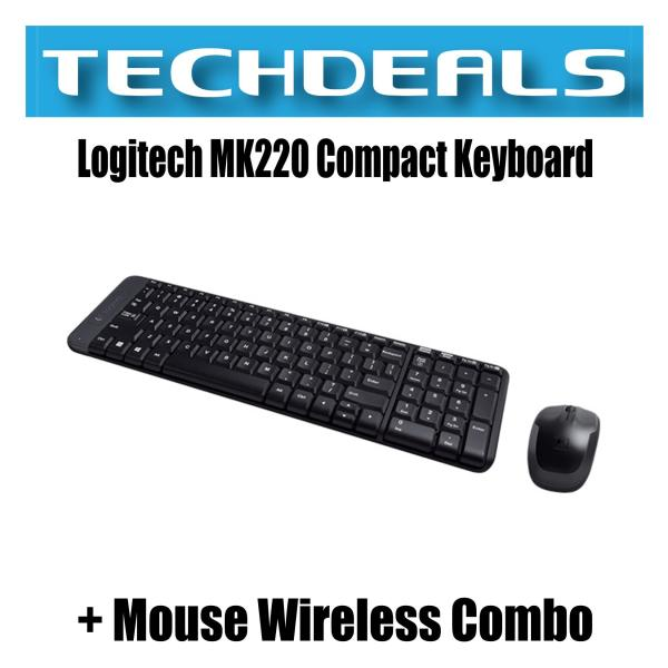 Logitech MK220 Compact Keyboard + Mouse Wireless Combo Singapore