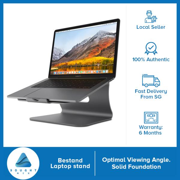 Bestand Laptop Stand, Ergonomic Aluminum Cooling Laptop/Macbook Stand Grey Silver