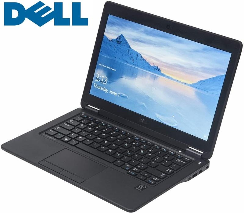[SG Seller] (Certified Refurbished) Dell Latitude E7250 12.5-Inch Laptop | Intel Core i5-5300U 2.3GHz | 256GB SSD | 8GB | Windows 10 Pro