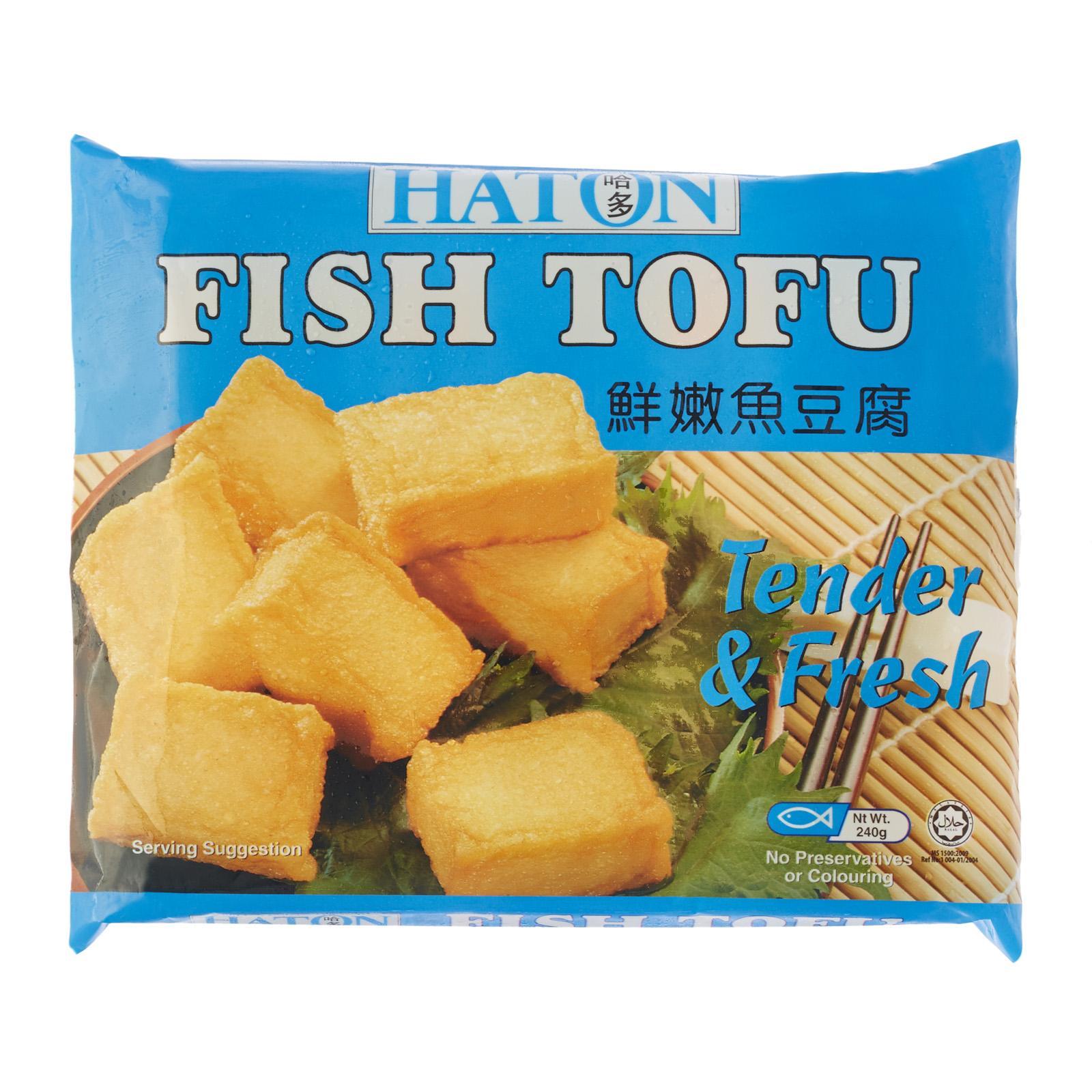 Haton Fish Tofu - Frozen By Redmart.
