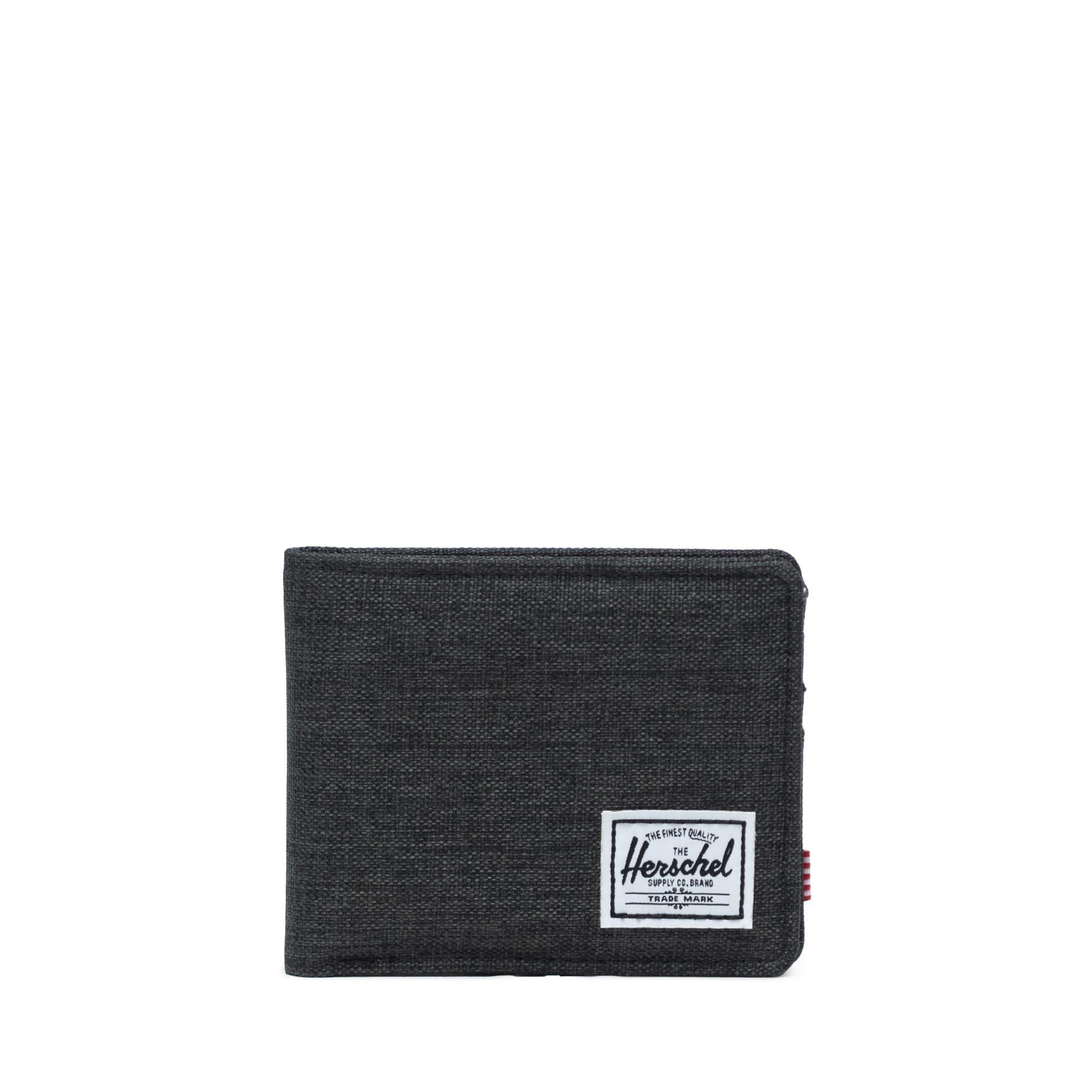 Herschel Roy RFID - Black Crosshatch