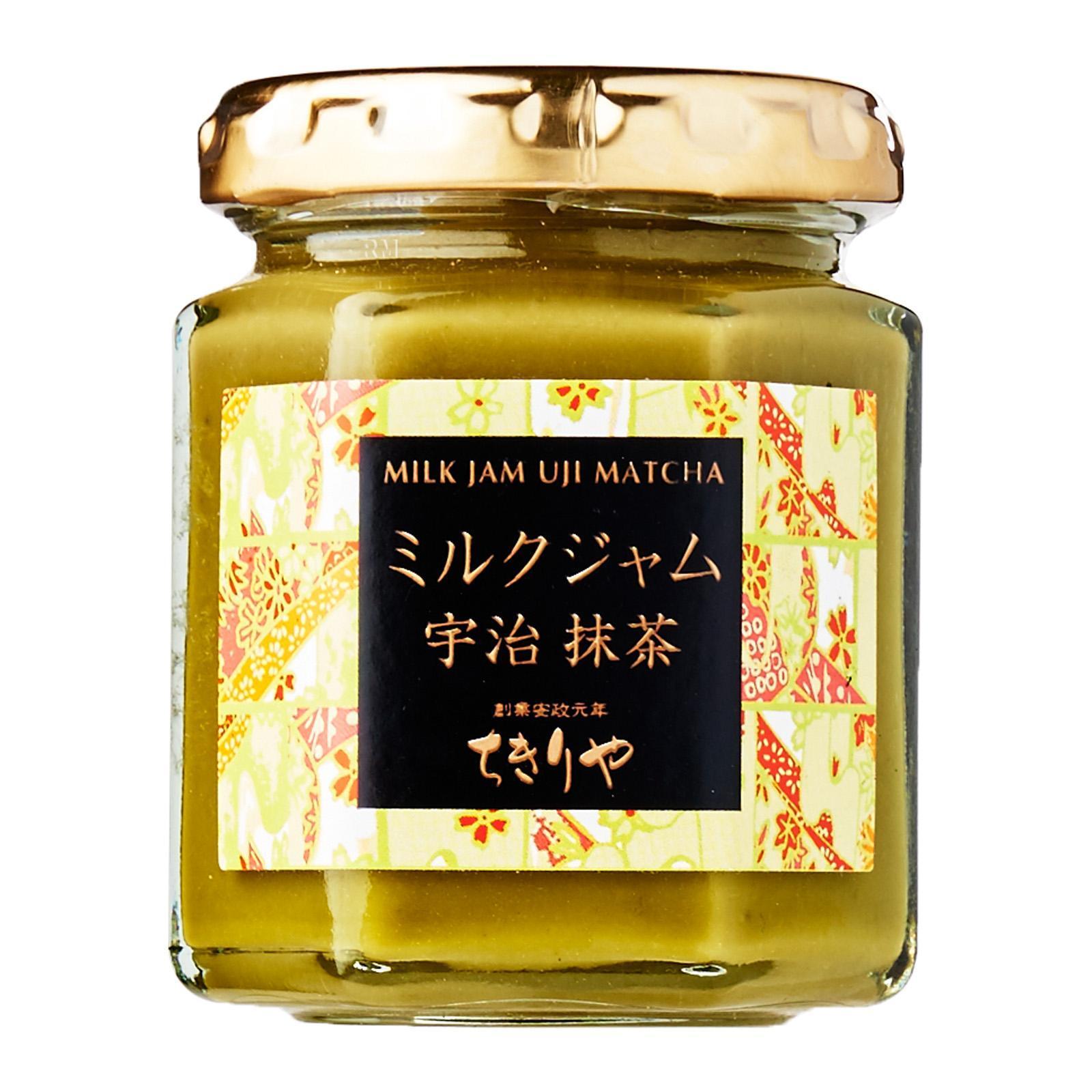 Kyo Chikiriya Milk Jam Uji Matcha - Kirei