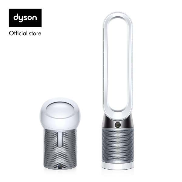 Dyson Pure Cool™ TP04 Air Purifier Tower Fan White Silver with Pure Cool Me™ Personal Air Purifier Fan White Silver worth $499 Singapore