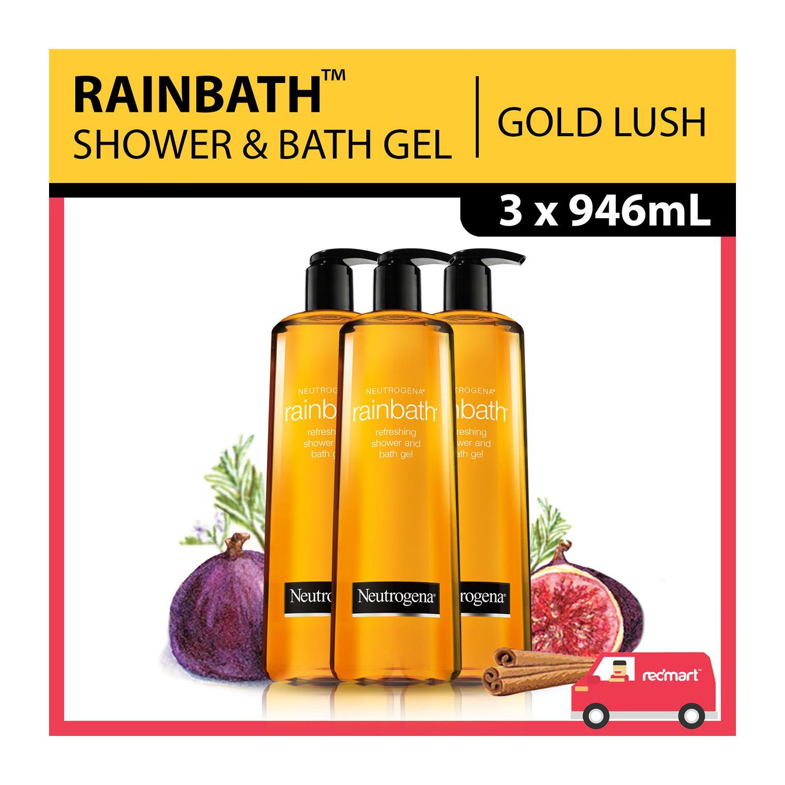 Neutrogena Rainbath Refreshing Shower And Bath Gel Value Pack Bundle