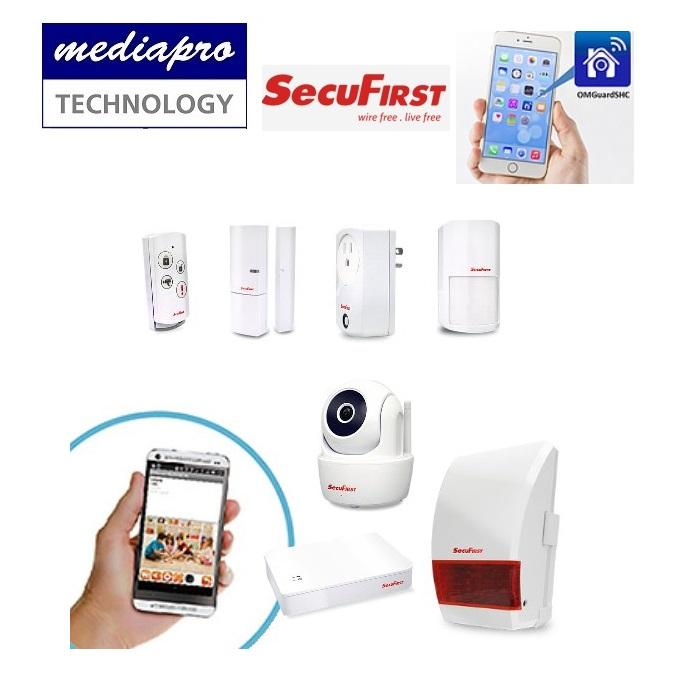 SecuFirst Secure Home Starter Kit HO-SK01 - Designed for Residential Properties, Small Retails, Light Commercials