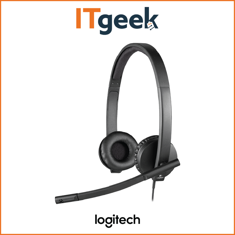 (4HRS DELIVERY) Logitech H570E USB Stereo Headset Singapore