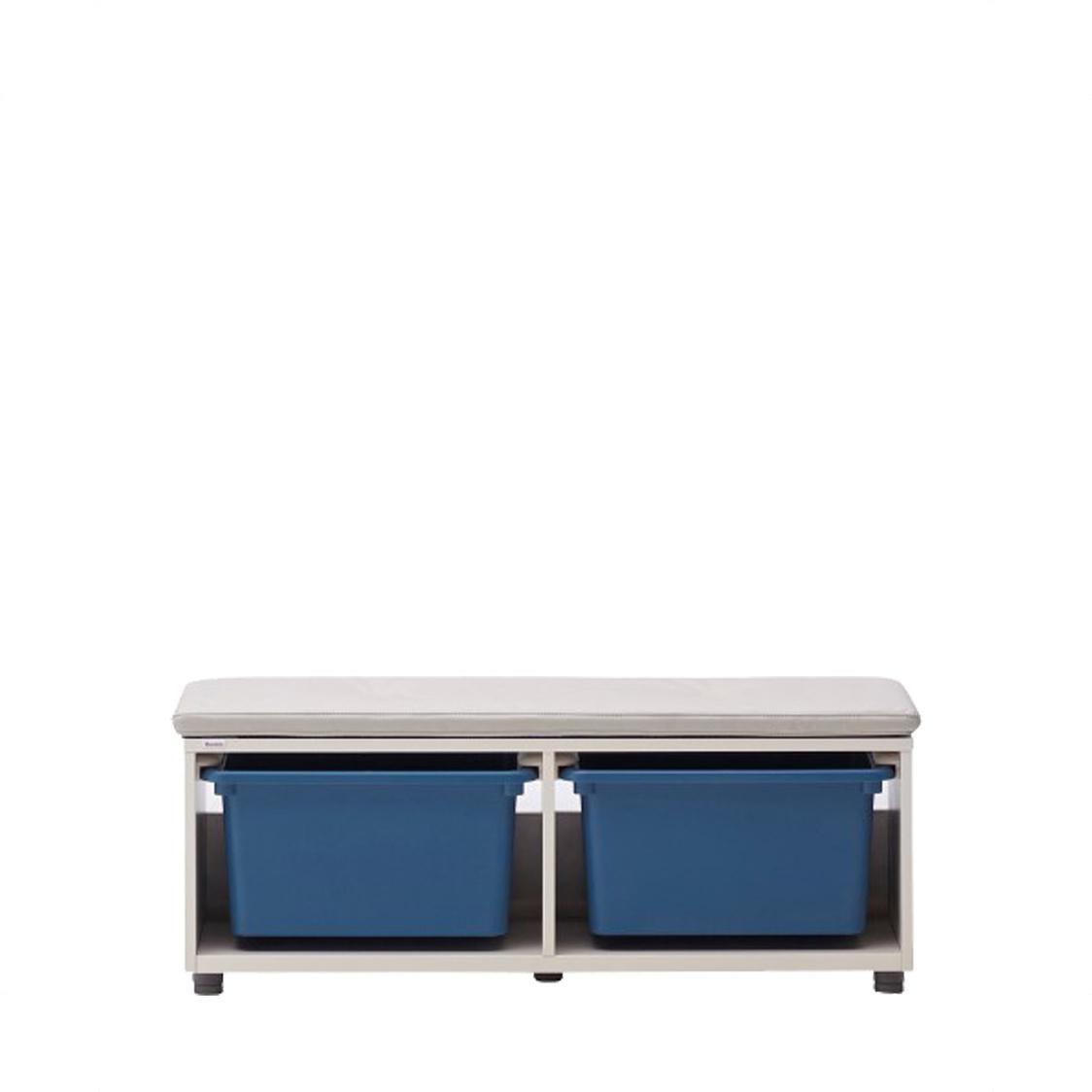 Iloom Eddi Kids950W Bench With Storage Hsfp191-Ivkb