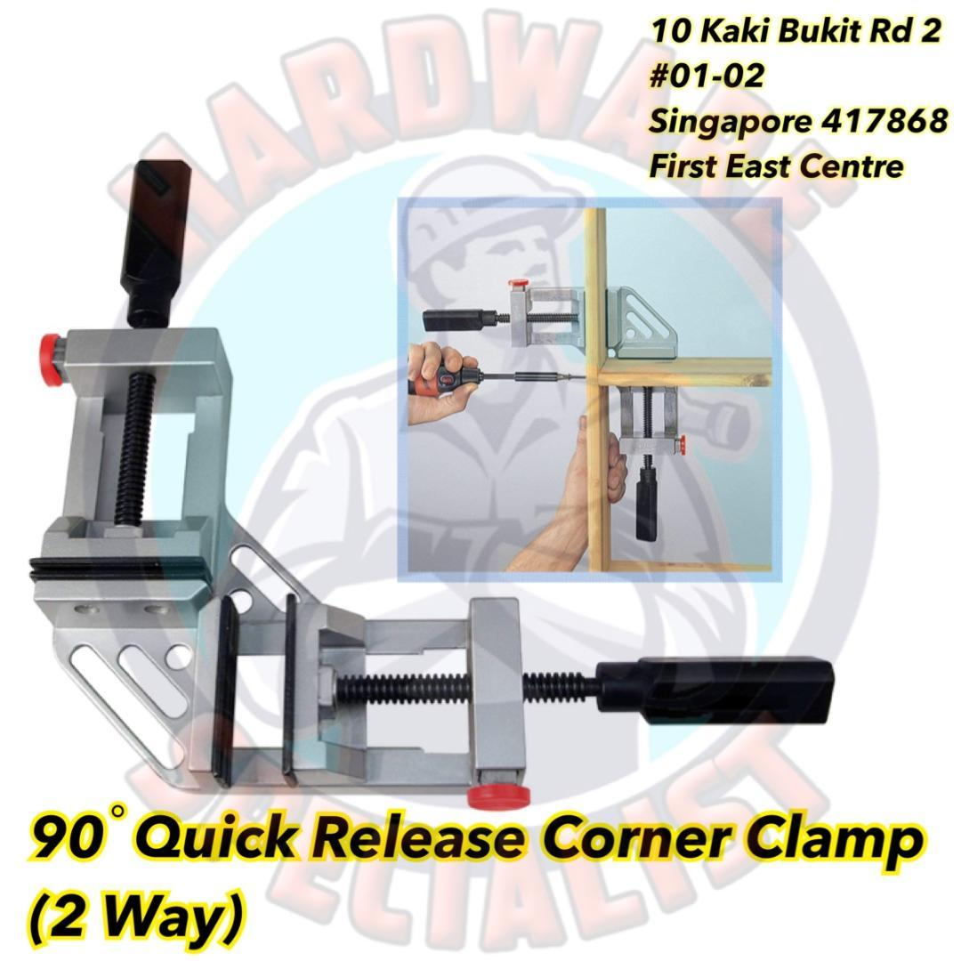 90 Degree Quick Release Corner Clamp (2 Way)