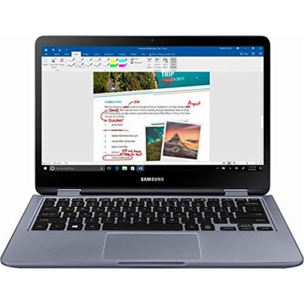 2018 Samsung 7 Spin 2-In-1 13.3 FHD Touchscreen LED Backlight High Performance Laptop  Intel Core i5 (8th Gen) 8250U Quad-core 6MB Cache  8GB RAM  512GB SSD  Backlit Keyboard  Windows 10 Home
