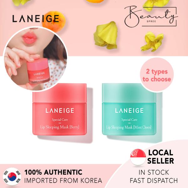 Buy [In Stock] LANEIGE Lip Sleeping Mask 20g - Mint Choco / Berry Singapore
