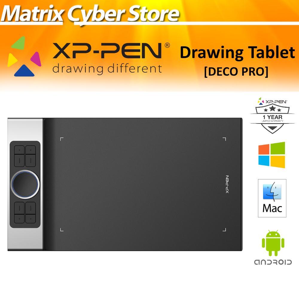 XP-PEN Deco Professional Series Drawing Tablet (XPPEN / XP PEN DECO) **Free XP-PEN FANS CALENDAR 2020 & ARTIST DRAWING GLOVE*
