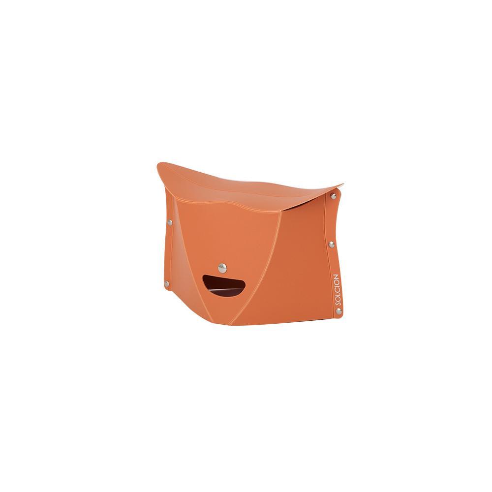 Solcion Patatto 180 - portable compact stool (Terracotta)