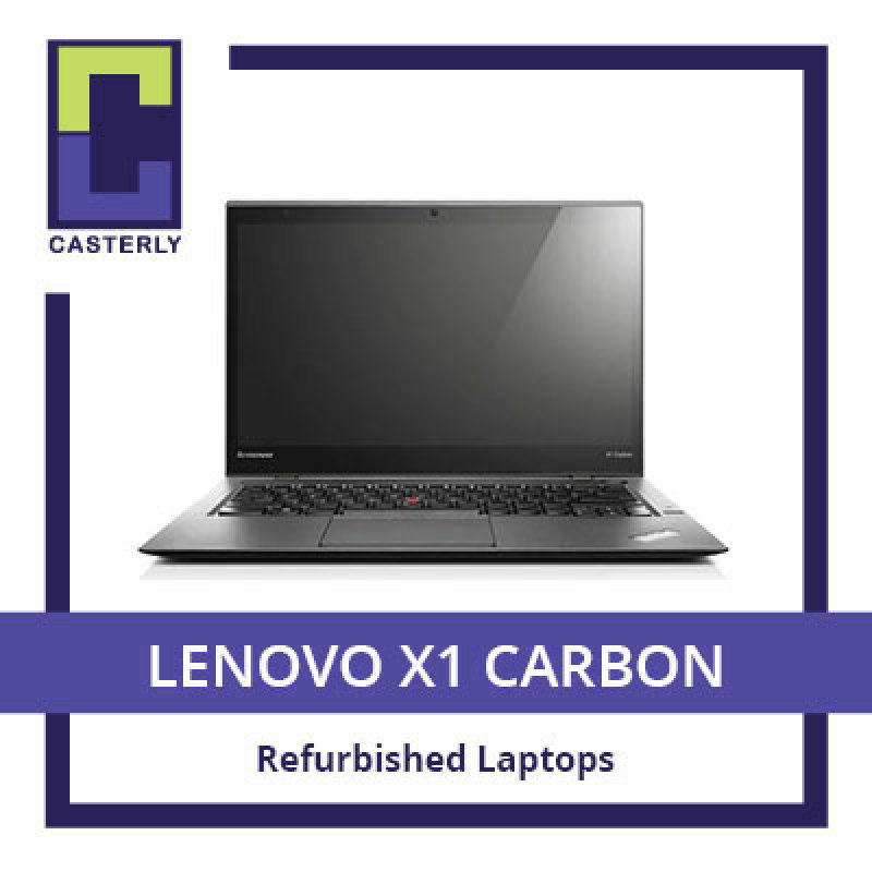 [Refurbished] LENOVO X1 Carbon / Intel Core i7-5th Gen / 8GB RAM / 256GB SSD / WIN 10 / 3 Months Warranty