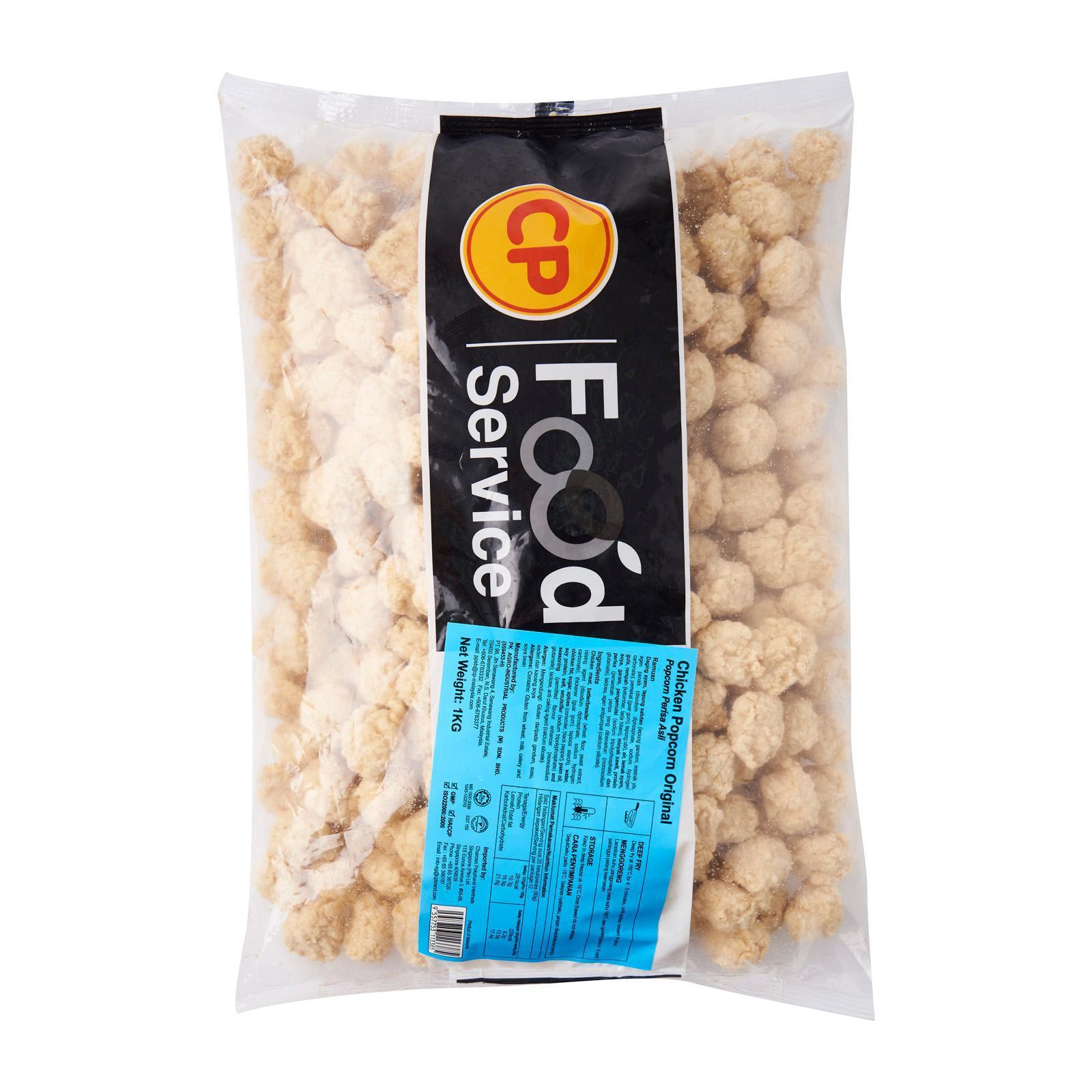 CP Popcorn Chicken Original - Frozen