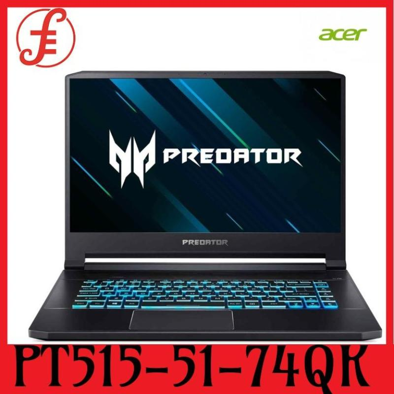 ACER PT515-51-74QK Predator Triton 500 PT515-51-74QK 15.6 IN INTEL CORE I7-9750H 16GB 512GB SSD WIN 10 and RTX 2070 (Max-Q) Graphics card (Free Gift with Purchase) (PT515-51-74QK)
