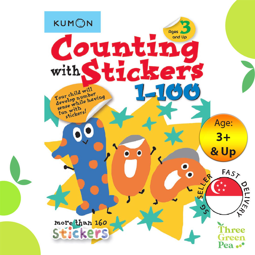 Kumon - Counting With Stickers 1-100