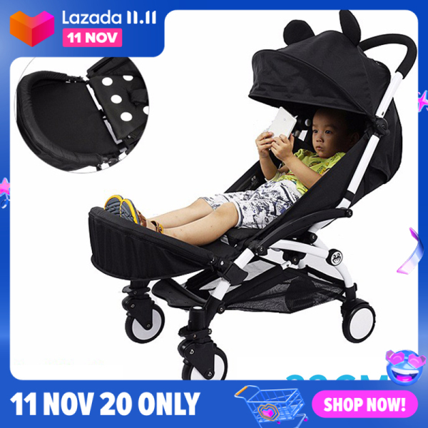 Baby Stroller Booster Baby Stroller Footrest Infant Pram Baby Stroller Foot Dragging 32cm Armrest Footmuffs Singapore