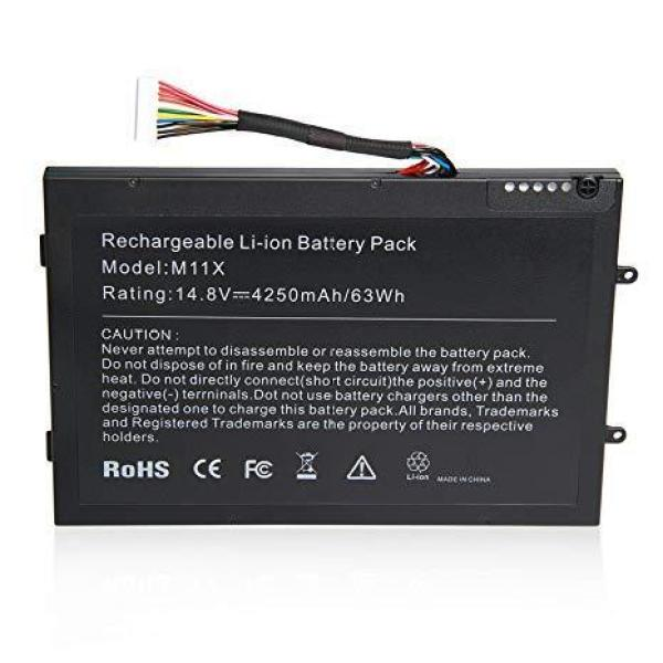 Replacement Laptop Grade A Cells Battery for M11X Compatible with Dell Alienware M11x, M11x R1, M11x R2, M11x R3, M14x, M14x R1, M14x R2