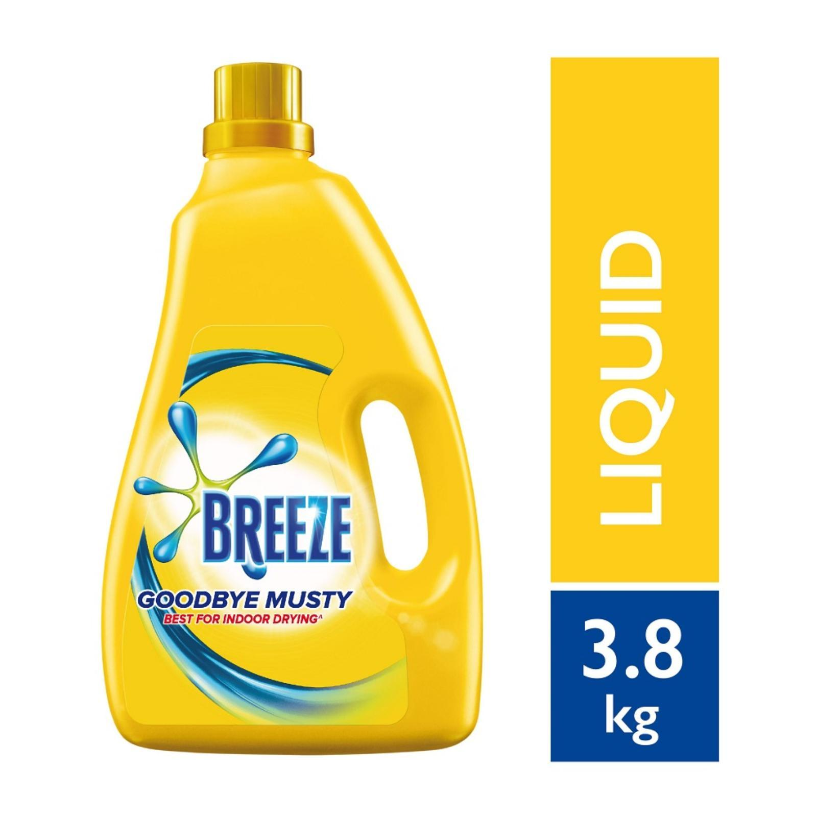 Breeze Goodbye Musty Indoor Drying Liquid Detergent
