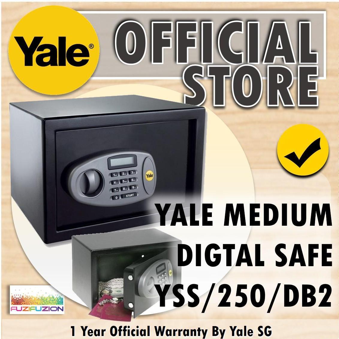 Yale YSS/250/DB2 Medium Standard Safe