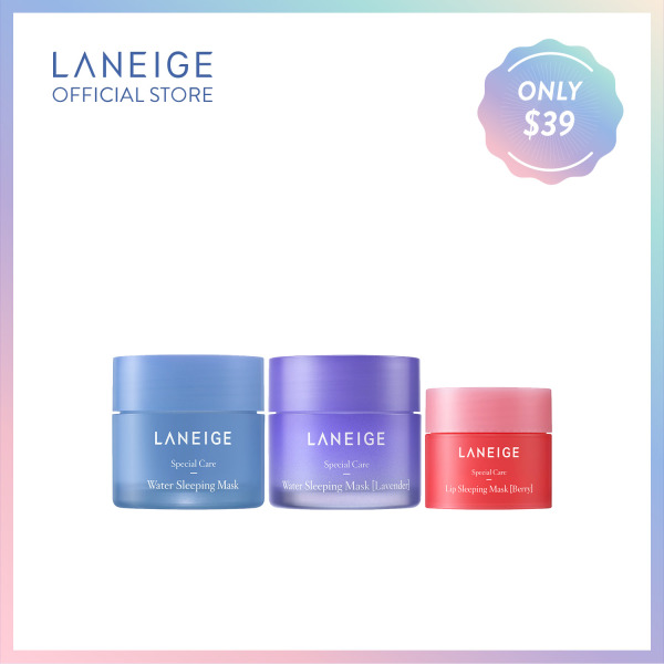Buy [Super Brand Day] LANEIGE Sleeping Beauty Trio Singapore