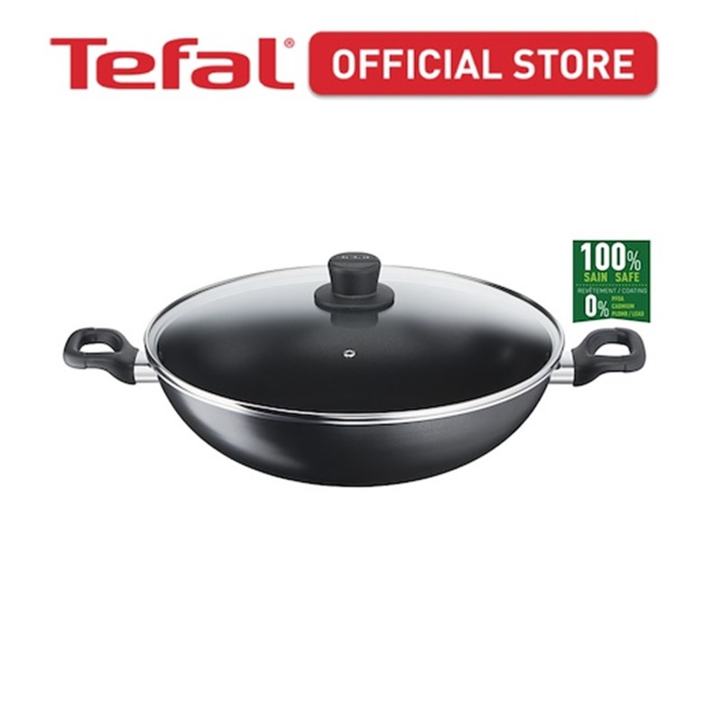 Tefal Cook Easy Chinese Wok 36cm w/lid B50392 Singapore