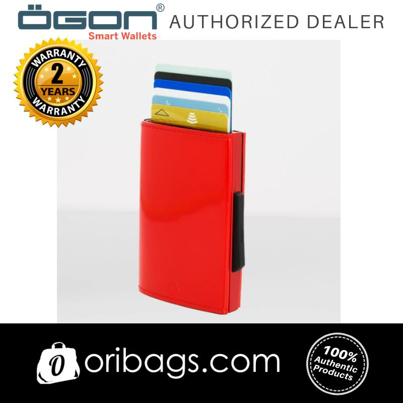 OGON Cascade Wallet RFID Safe - Cherry (Glossy)