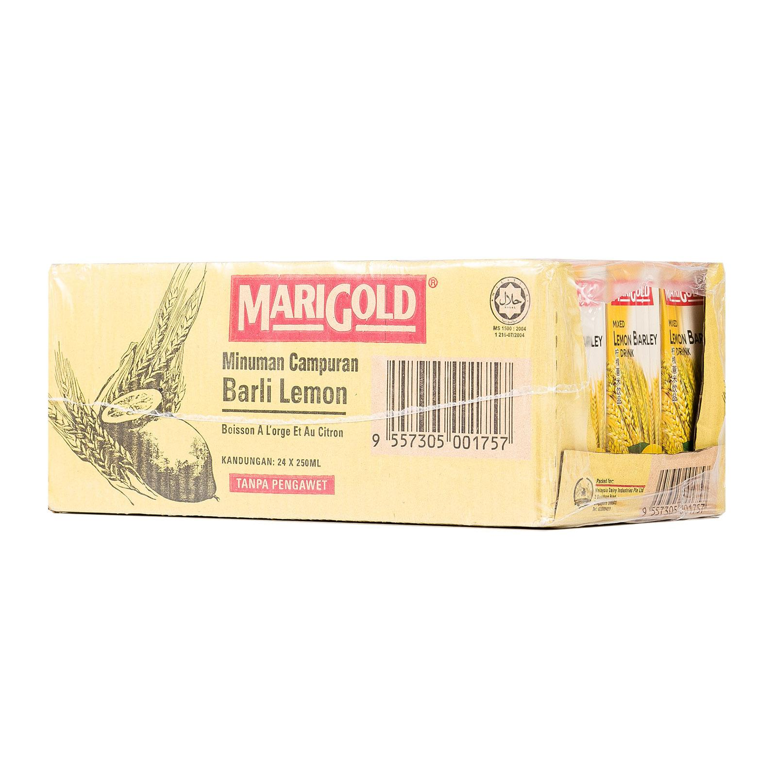 MARIGOLD Mixed Lemon Barley Drink - Case