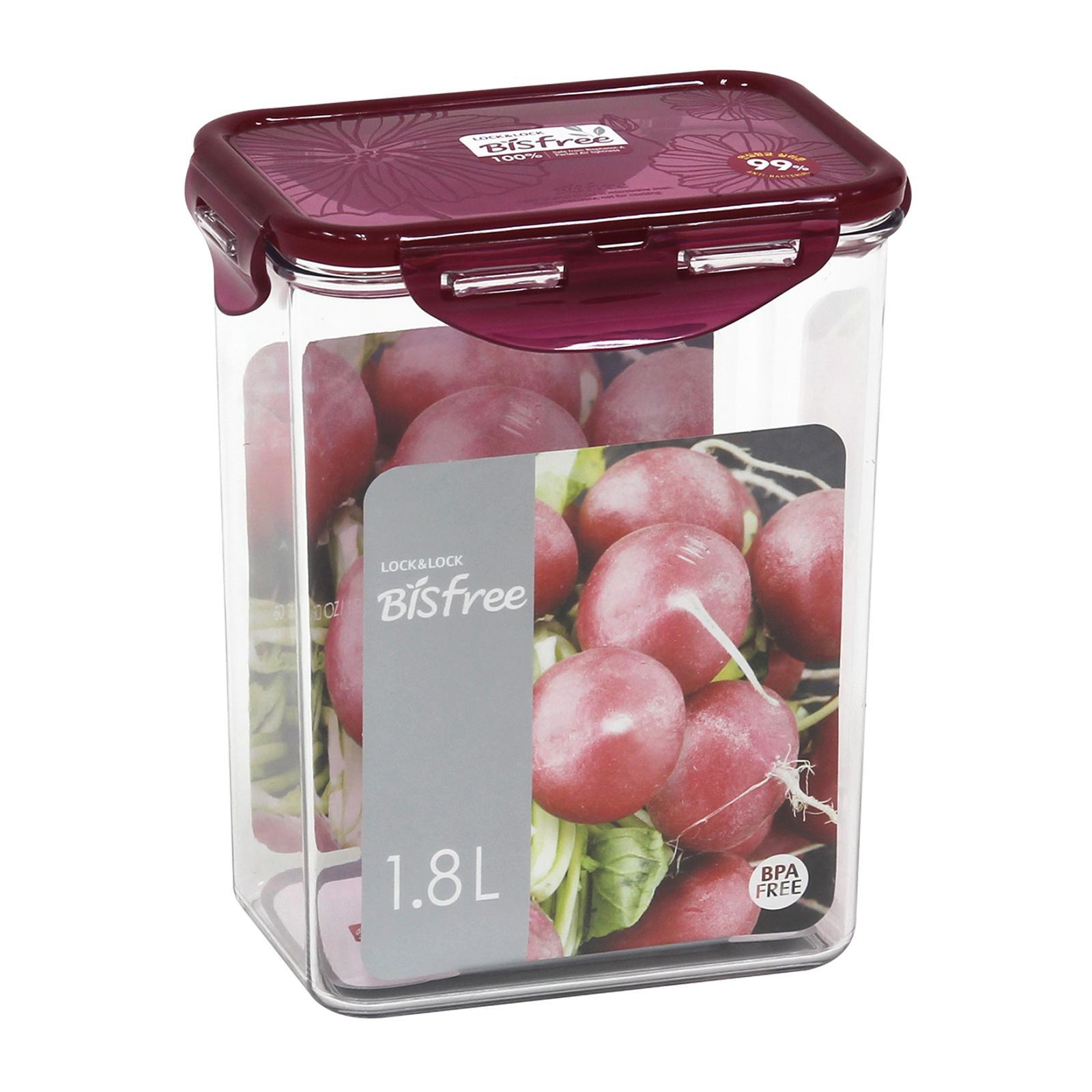 Lock & Lock Rectangular Classic Food Container 2.0L