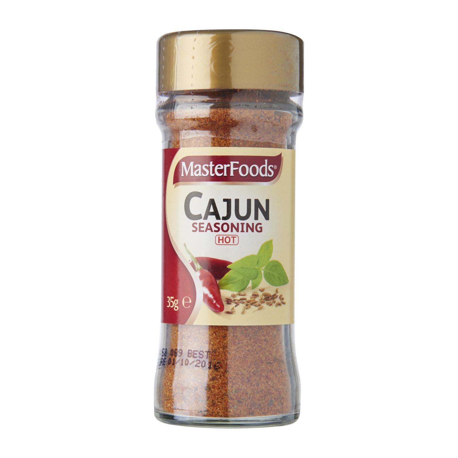 Masterfoods Cajun Seasoning Jar