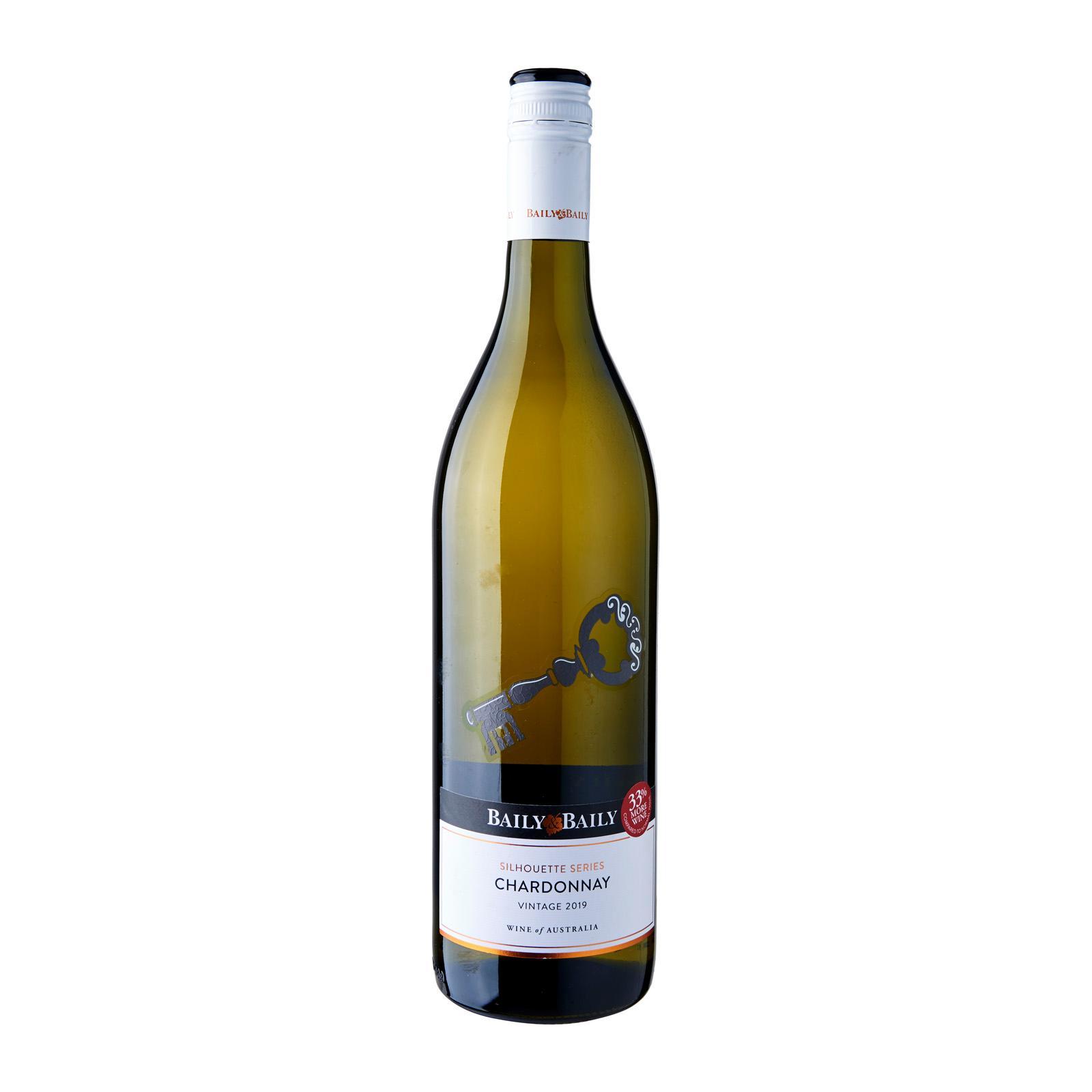 Baily and Baily Silhouette Chardonnay White Wine Australia