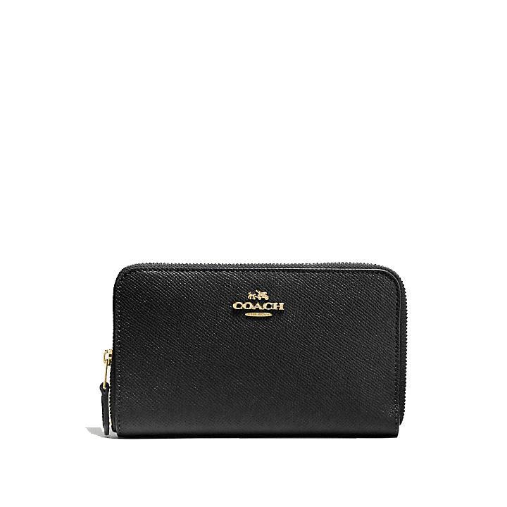 Coach Leather Wallet. Woman. Model Coach - 58584 . credit card d494ca8c80c59
