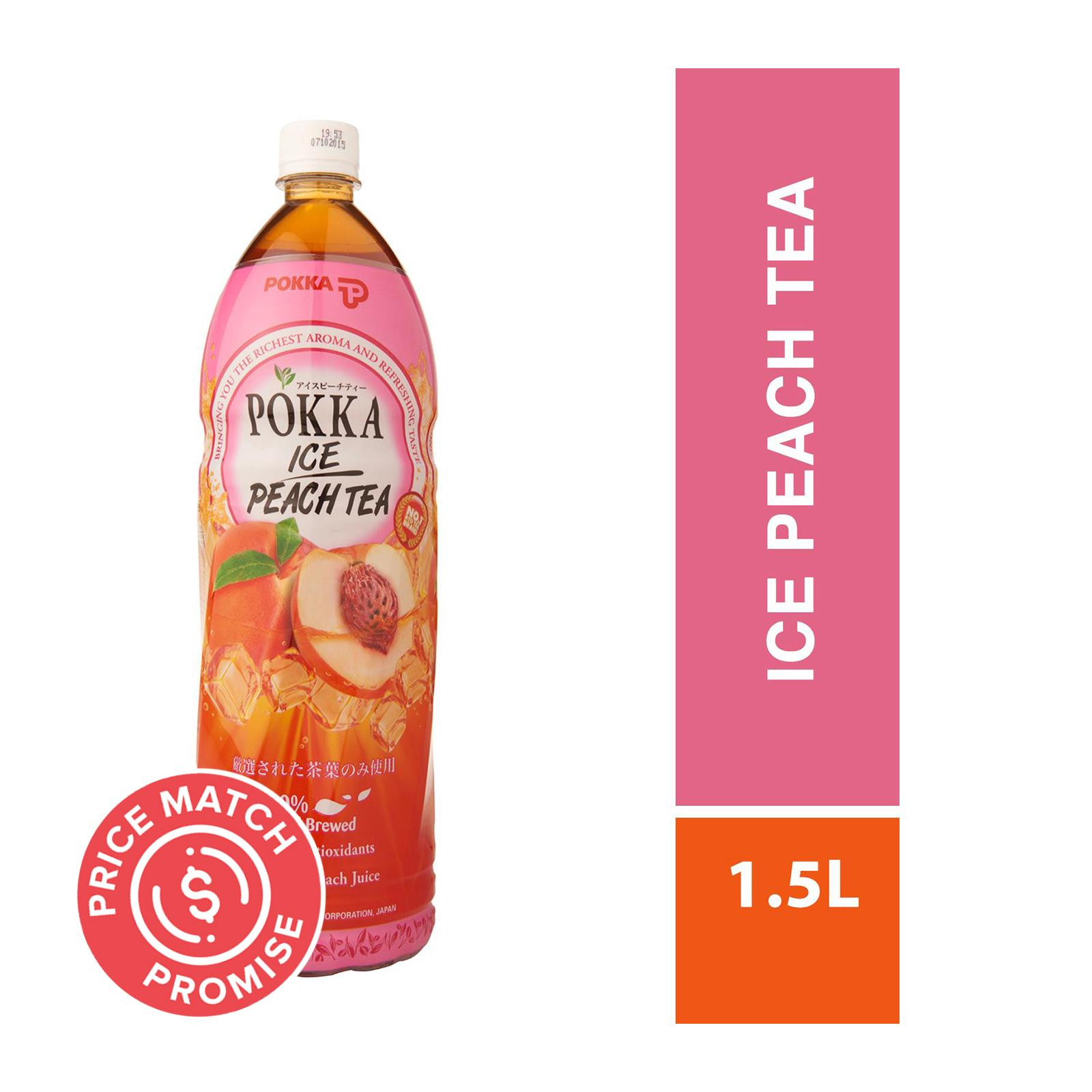 POKKA Ice Peach Tea 1.5L