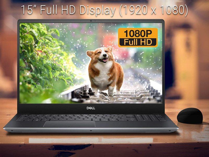 Dell Vostro 15 7590 Gaming Laptop, 15.6 FHD Display, Intel Core i7-9750H Upto 4.5GHz, 32GB RAM, 1TB NVMe SSD + 1TB HDD, GTX 1050, HDMI, Thunderbolt, Card Reader, Wi-Fi, Bluetooth, Windows 10 Pro