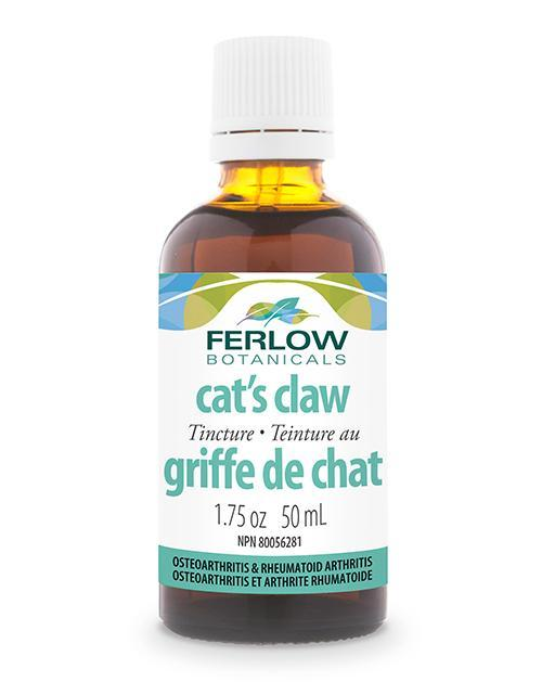 Ferlow Botanicals Cats Claw Tincture (50 Ml) By That Health Shop.