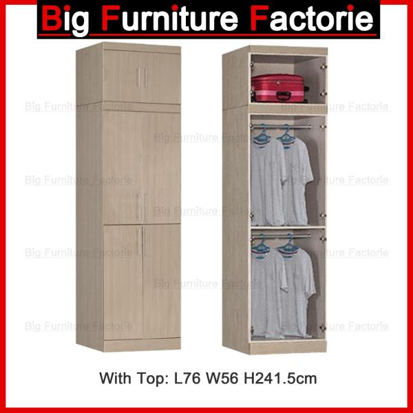 BFF-A5D Two Door Wardrobe with Top