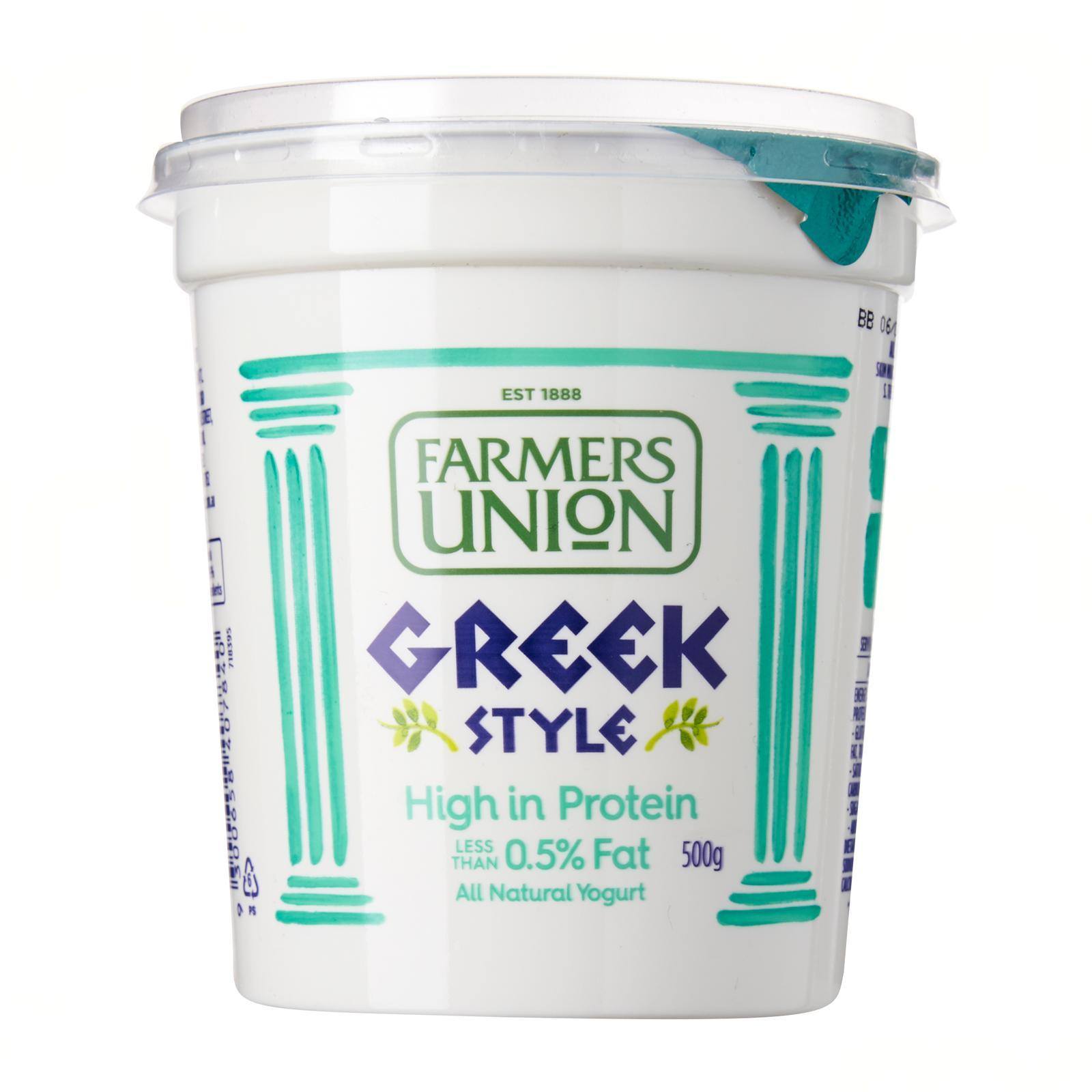 Farmers Union Greek Style Yoghurt 0.5% Fat