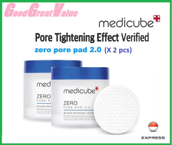 Buy MEDICUBE Zero Pore Pad UPGRADED 2.0 Twin Set (70ea + 70ea) Singapore