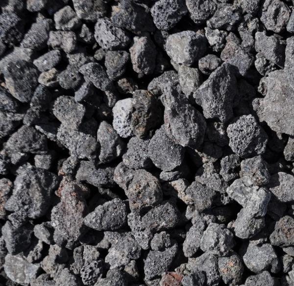 aPT. Natural Volcanic Black Lava Stones 4.5KG